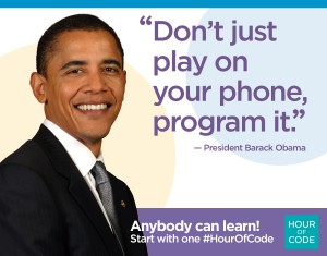 Obama on Hour of Code