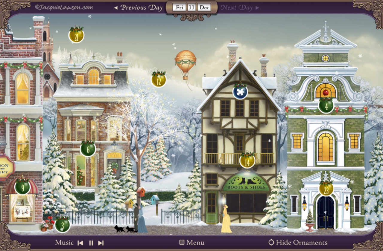 jacquie lawson advent 2015 screenshot2 - Jacquie Lawson Halloween Cards