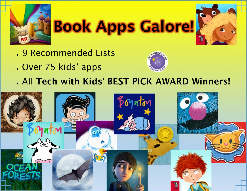 Best Book Apps to Hook Kids on Reading