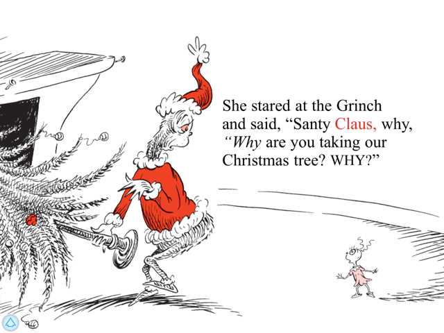 How the Grinch Stole Christmas! - Dr. Seuss Review - TechWithKids.com