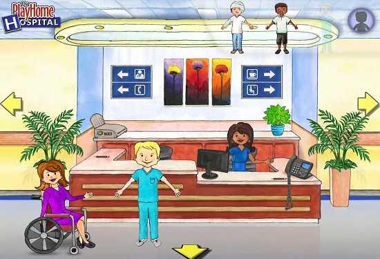 Скачать бесплатно игру my play home hospital