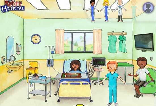 скачать бесплатно игру My Play Home Hospital - фото 4
